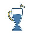 milkshake icon image vector image vector image