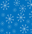 Snow pattern background