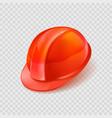 stock realistic orange vector image vector image