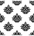 Victorian styled foliate seamless pattern vector image vector image