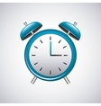 alarm time watch isolated icon vector image vector image