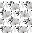 elegance floral seamless pattern abstract floral vector image vector image