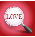 Finding Love vector image vector image