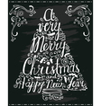 greeting lettering vector image vector image