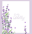 Lavender summer frame watercolor card backgrounds