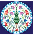 oriental ottoman design seven color version vector image vector image