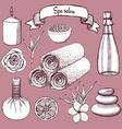Sketch Japanise restaurant vector image vector image