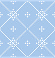 tile pastel blue and white decorative floor tiles vector image