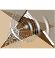 abstract antenna vector image