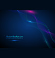 abstract background with a colored dynamic waves vector image vector image