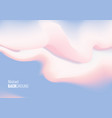 abstract liquid cloud background vector image vector image