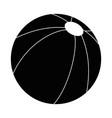 beach ball isolated vector image