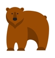 Cartoon bear vector image