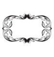 classical baroque vector image