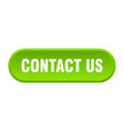 Contact us button us rounded green sign