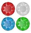 diamond sapphire ruemera vector image