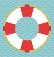 Lifesaving icon design vector image