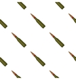 Military rifle bullet icon in cartoon style vector image vector image