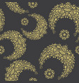 oriental pattern moon and stars islam arabic vector image vector image