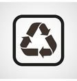 Recycle Icon Flat vector image