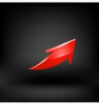 Red arrow vector image vector image