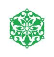 Arabesque decor illistration vector image vector image