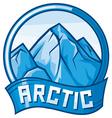 arctic design vector image