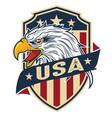 eagle bird wing annimal usa america vector image