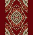 oriental floral ornament vector image vector image