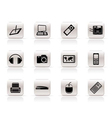 Simple hi-tech technical equipment icons vector | Price: 1 Credit (USD $1)