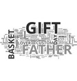 what will you gift your father on father s day vector image vector image