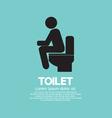 Toilet EPS10 vector image