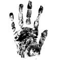hands print vector image