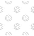 ball for playing volleyball pattern flat vector image vector image