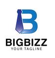 Big bizz logo vector image vector image