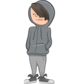 boy character cartoon vector image