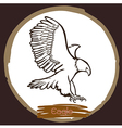 Eagle 4 vector image vector image