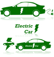 Electric car vector image vector image
