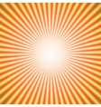 star burst orange vector image vector image