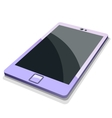 Tablet mobile phone in vector image vector image