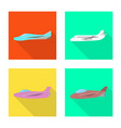 travel and airways symbol vector image vector image