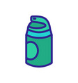 anti-aging foam side view icon outline