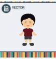 Kid icon design vector image vector image