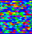 mosaic triangles texture vector image vector image