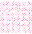 pink seamless star pattern background - design vector image vector image