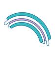 rainbow icon image vector image vector image