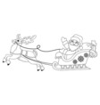 Santa1 vector image