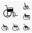 Wheelchair vector image vector image