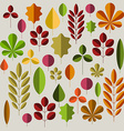 Autumn minimalist abstract floral background
