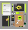 Corporate identity mock-up vector image vector image